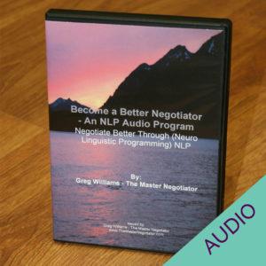 Become a Better Negotiator audio set